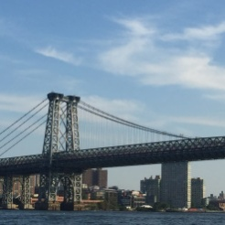 Williamsburg Bridge, East River