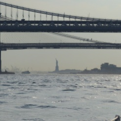 first glimpse of Lady Liberty
