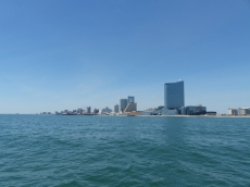 Atlantic City, viewed from Absecon Inlet